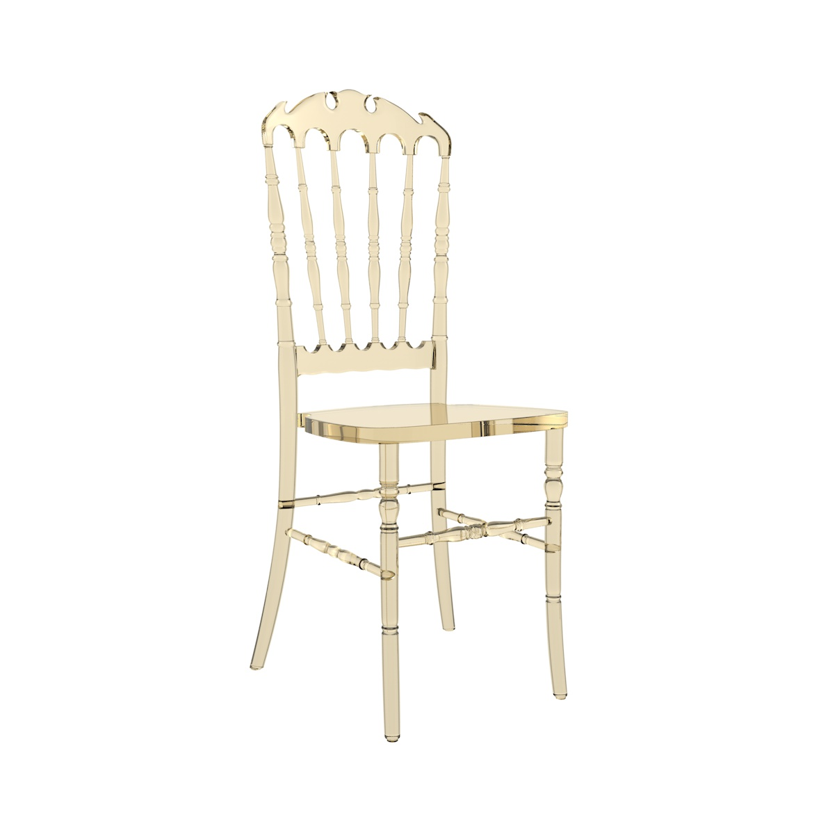 Cadeira Royal Cristal Âmbar