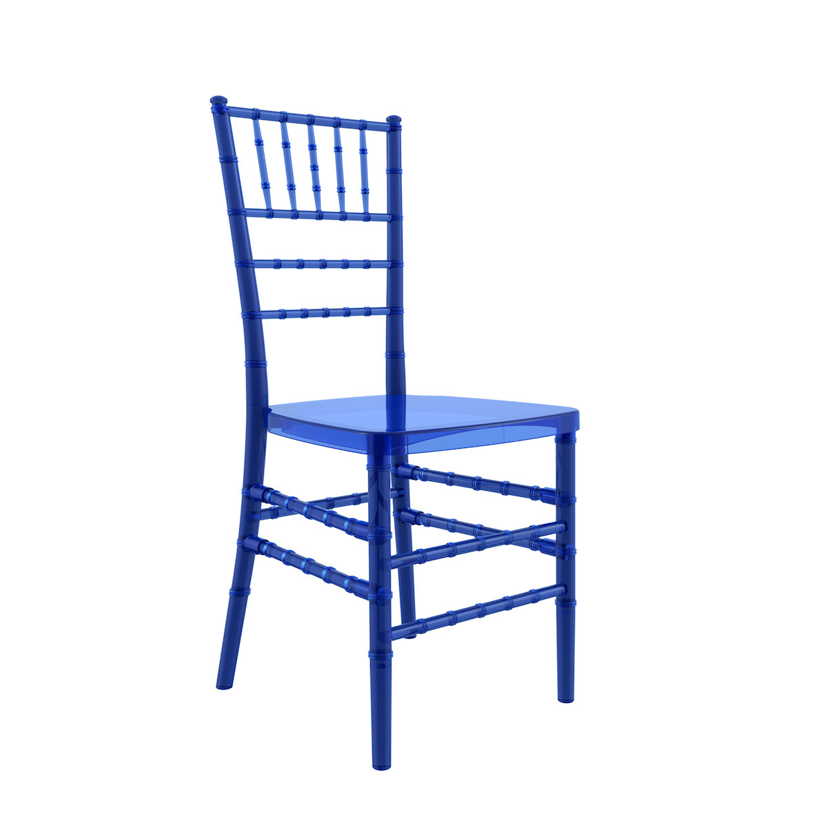 Cadeira Tiffany Cristal Azul