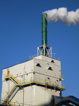 industrial scrubber stack