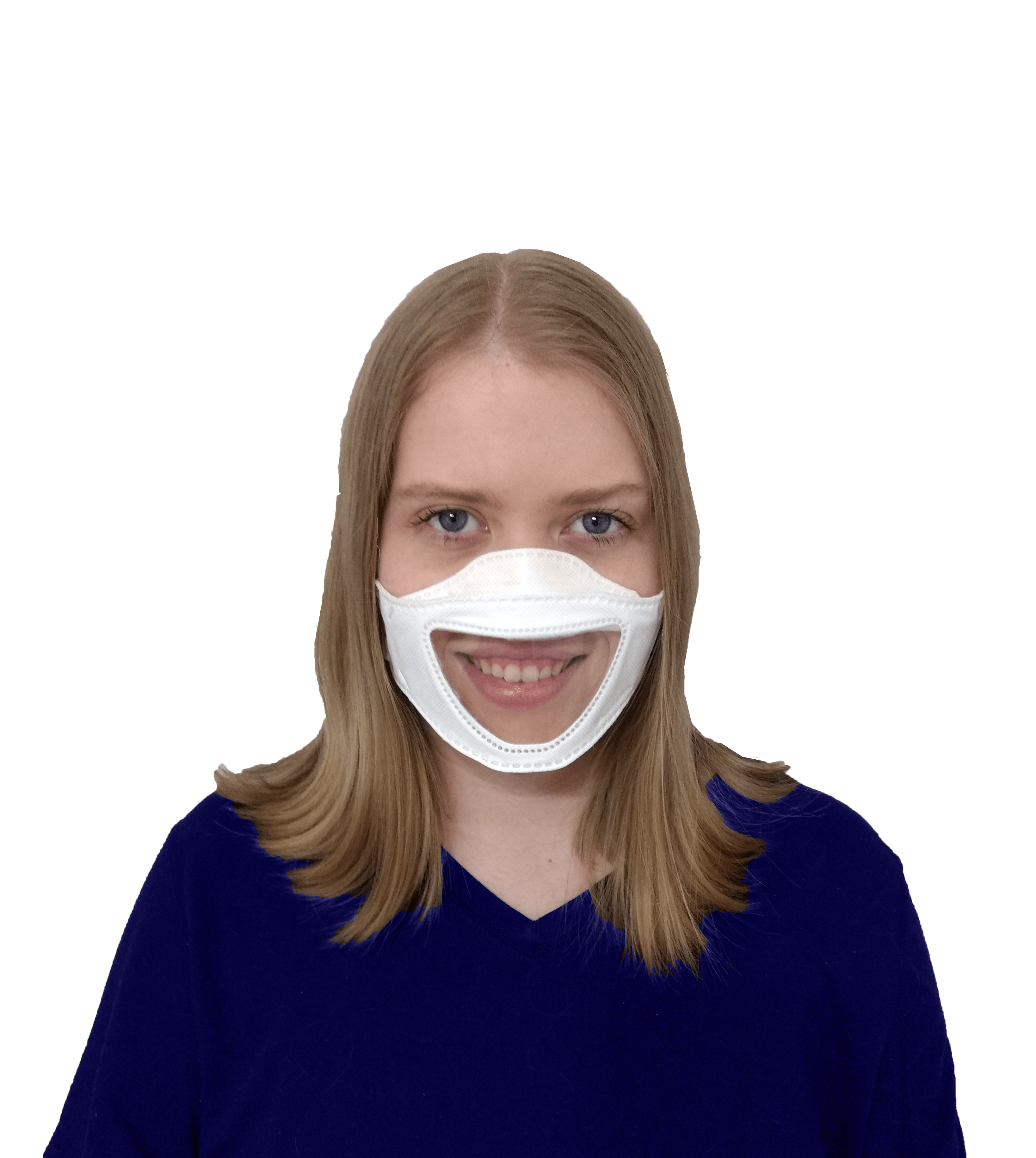 nurse wearing the FaceView Mask