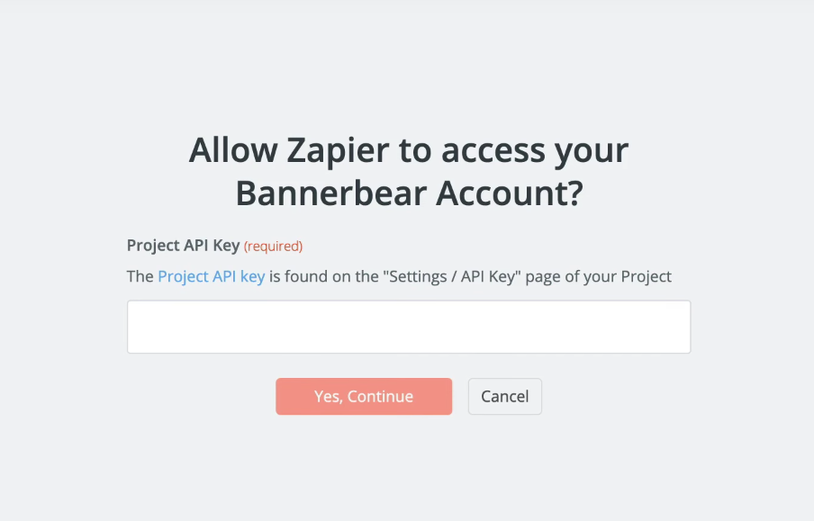 Nueva cuenta Twitter en Zapier para Bannerbear