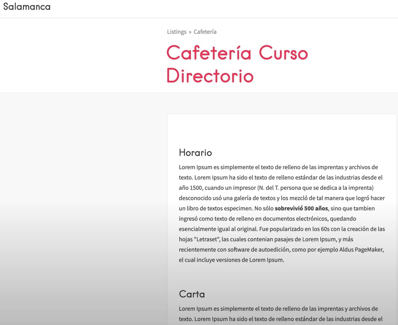 Contenido Airtable en Wordpress