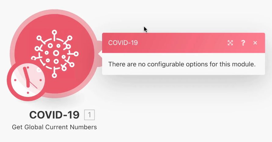 Integromat Covid 19