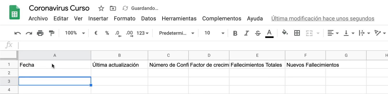 Campos Google Drive