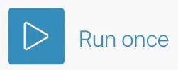 Integromat Run Once