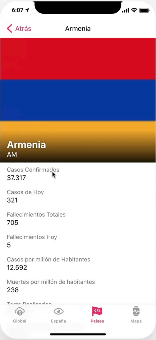 App Coronavirus Armenia