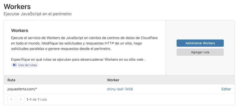 Workers cloudflare