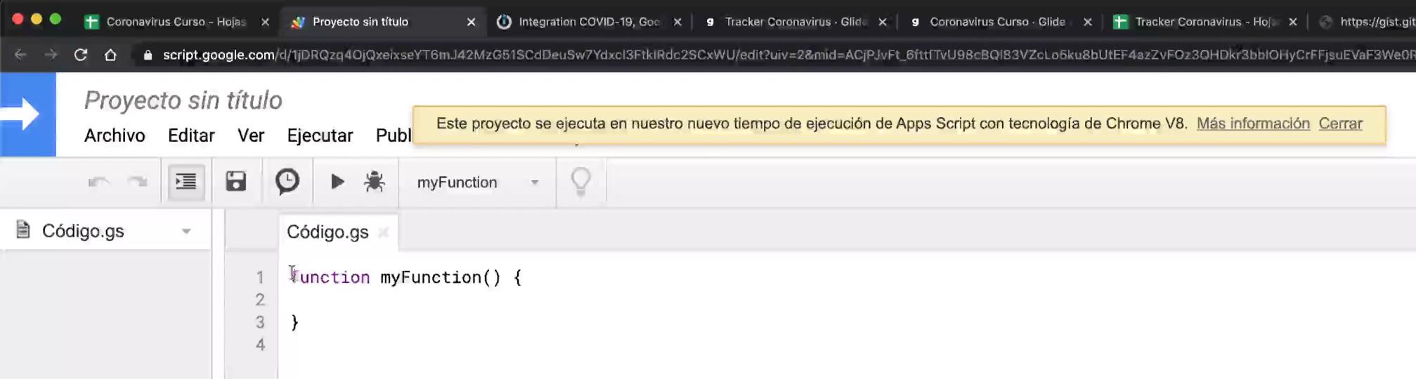 Google Drive secuencia de comandos