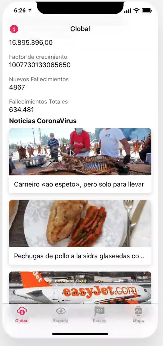 App Noticias verano