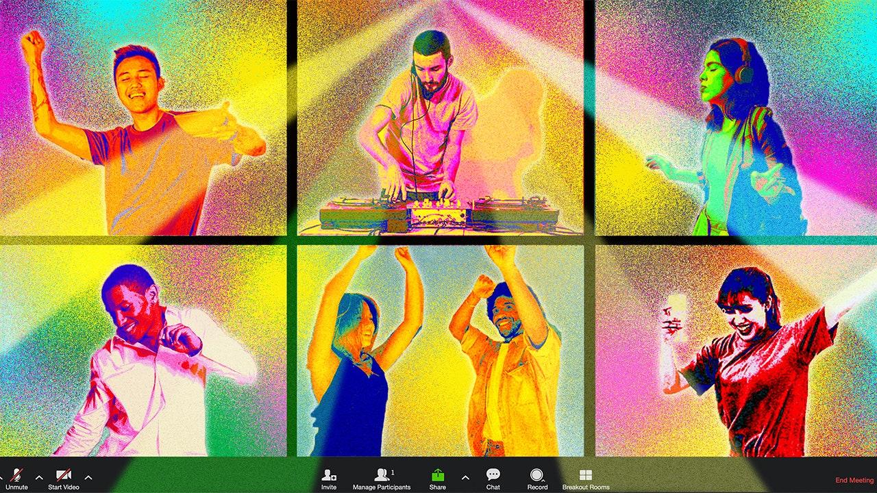 online pride dance party