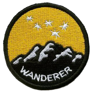 Mountain Wanderer Star Patch