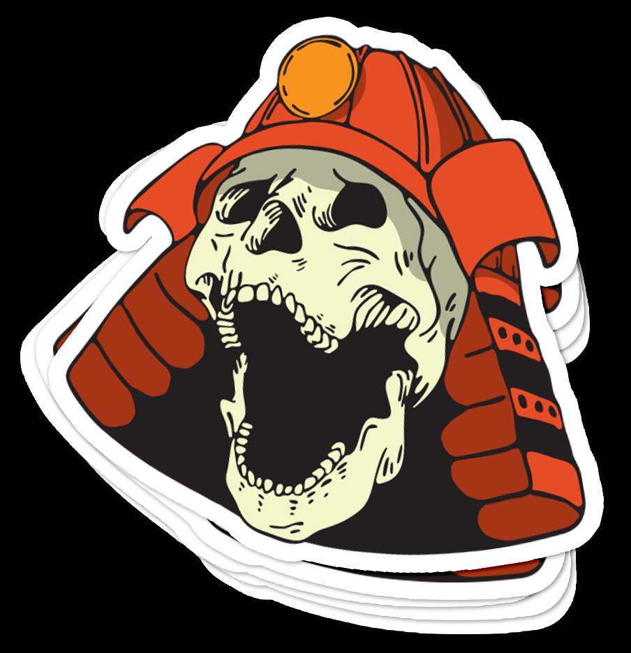 Kobayashi Sayonara Skull Sticker