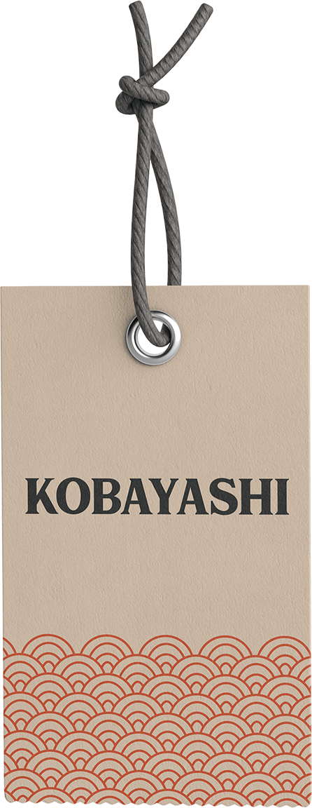 Kobayashi Brand Hang Tag