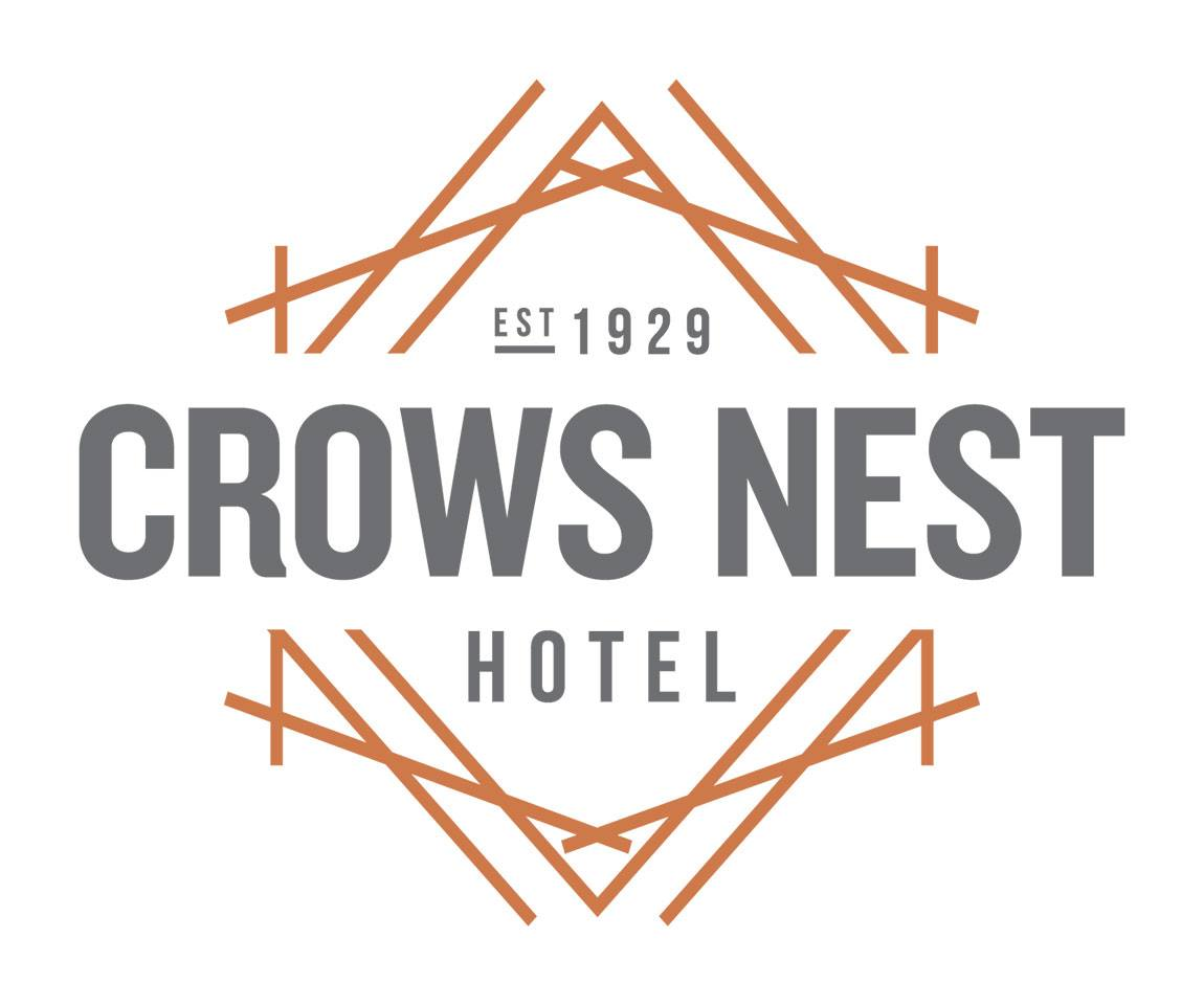 Crows Nest Hotel Logo | Mudcrab Music & Events