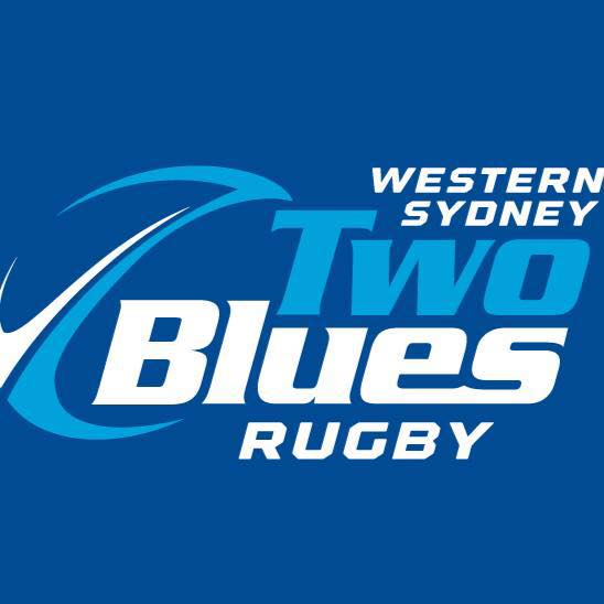 2 Blues Rugby Parramatta Logo | Mudcrab Music & Events