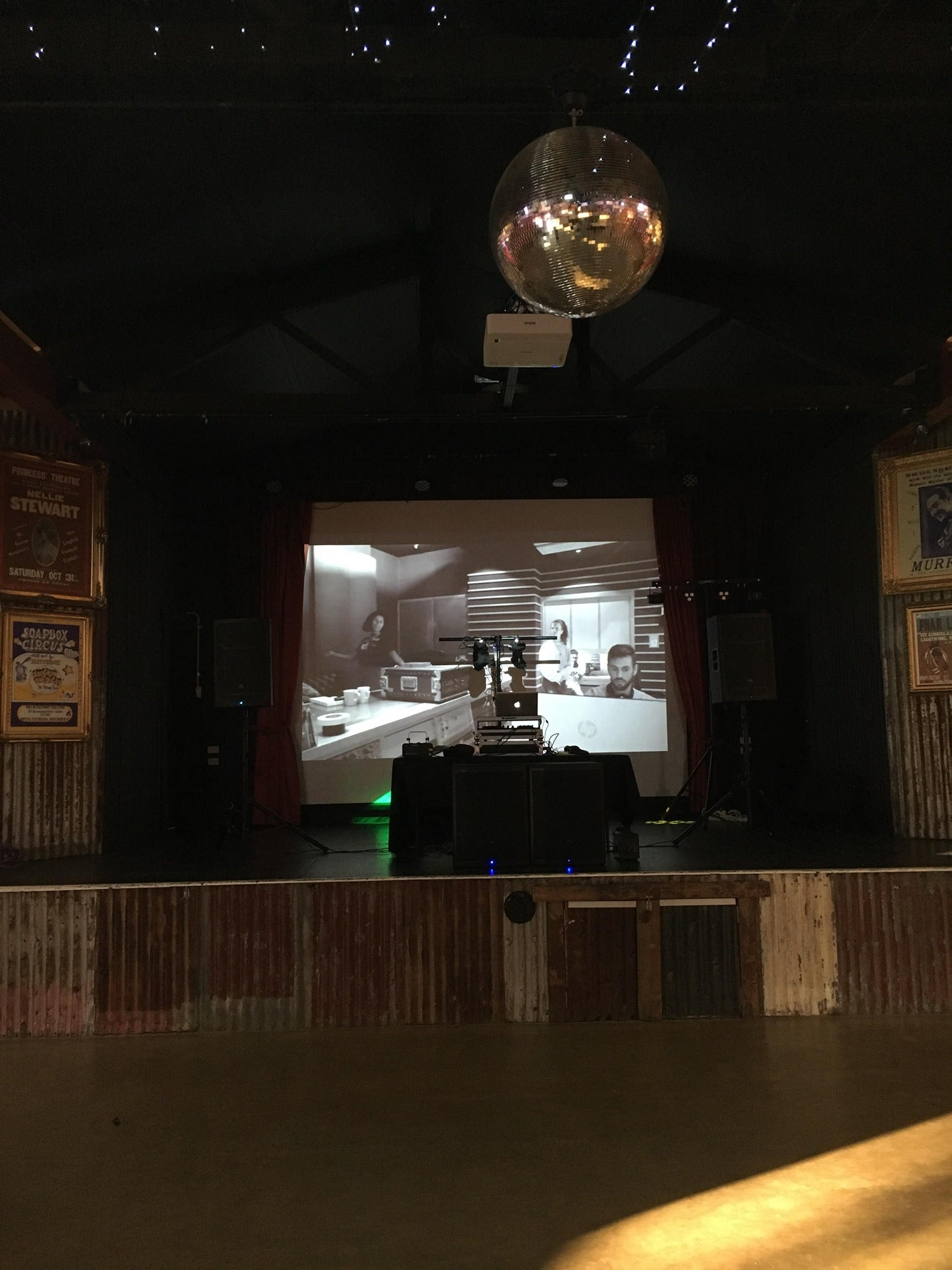 The Shed Aussie World Mudcrab Music & Events AV Hire