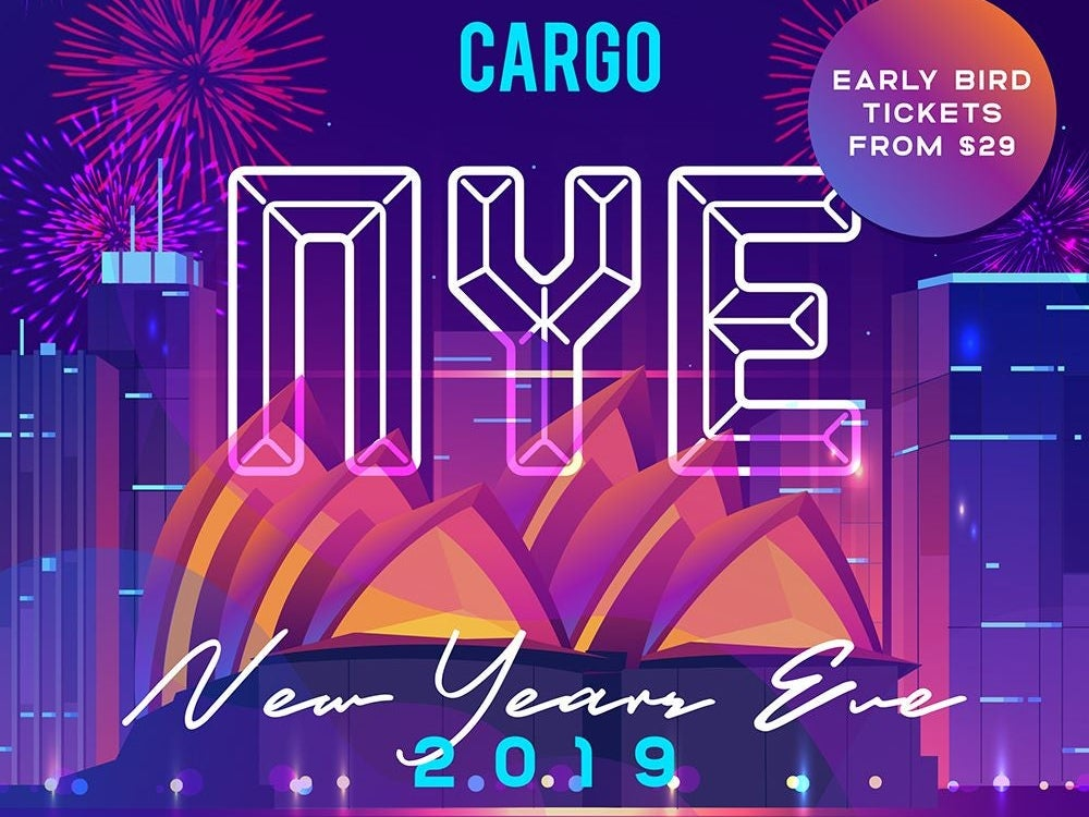 Cargo Bar NYE 2019 Mudcrab Music & Events
