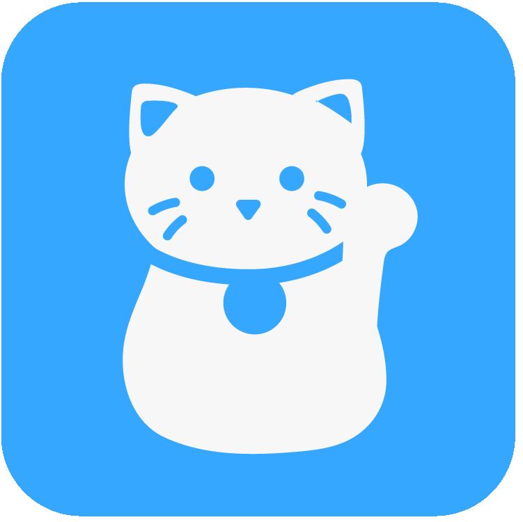 JA Cranium Cat Blue