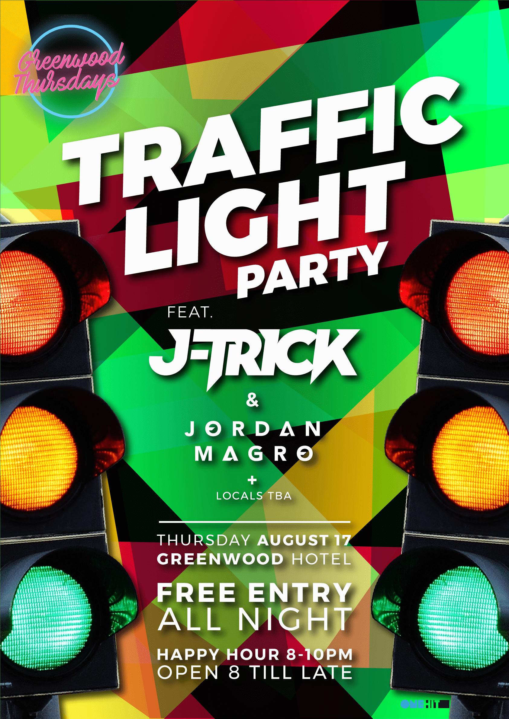 JTrick Jordan Magro Traffic Light Party Greenwood Thursdays North Sydney