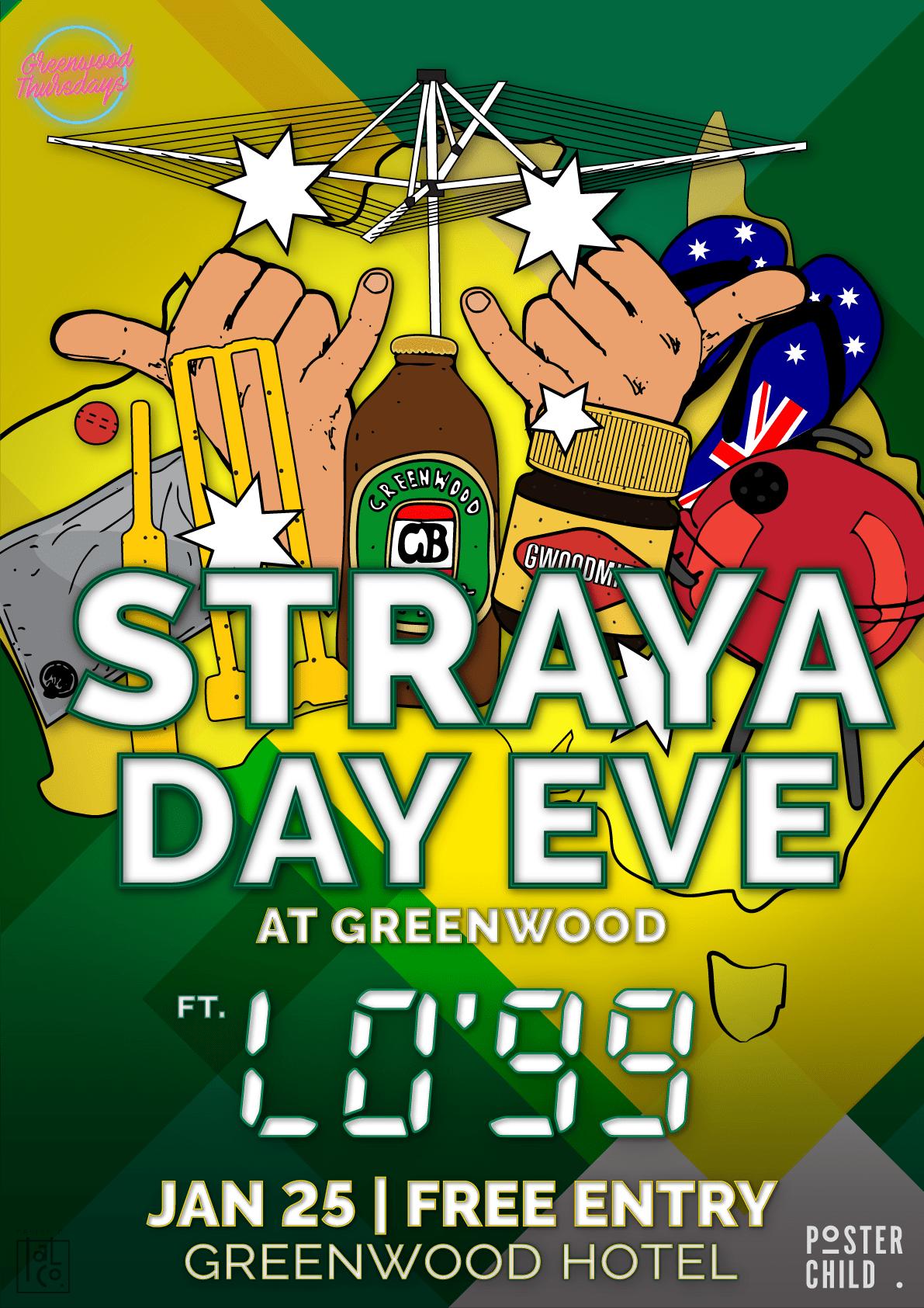 Straya Day Eve Lo99