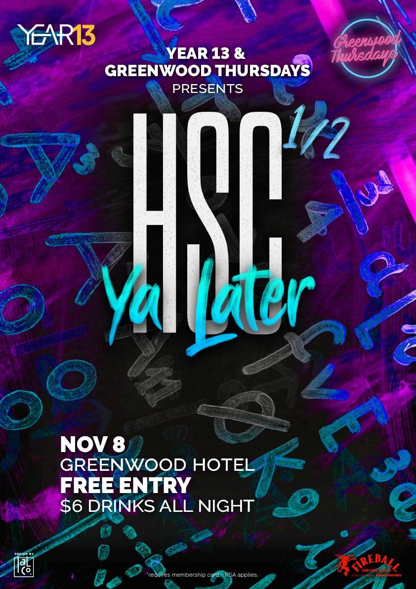 HSC Ya Later 2018 Year 13