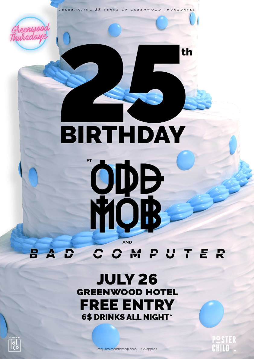 Odd Mob Bad Computer Greenwood Thursdays North Sydney