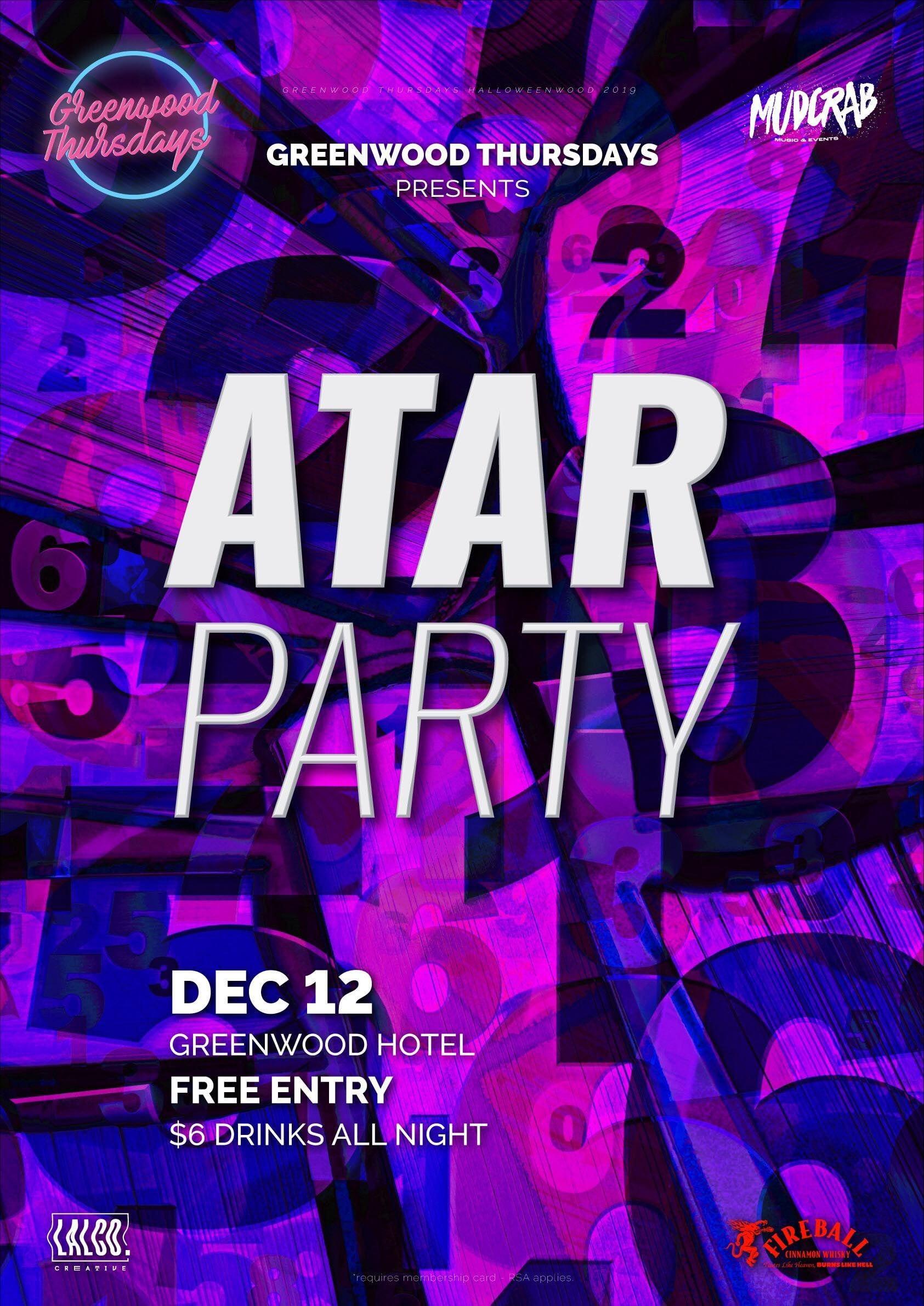 ATAR Party 2019