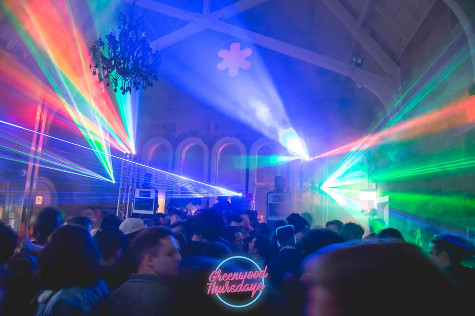 Cool Nightclub Lighting Greenwood Thursdays North Sydney
