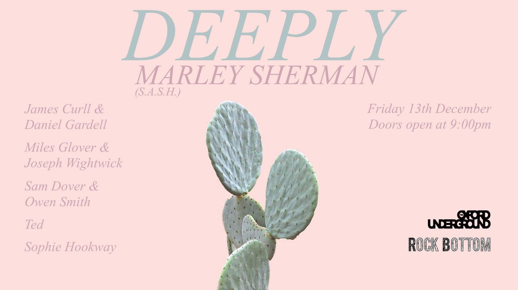 Marley Sherman SASH Rock Bottom Events - Sydney