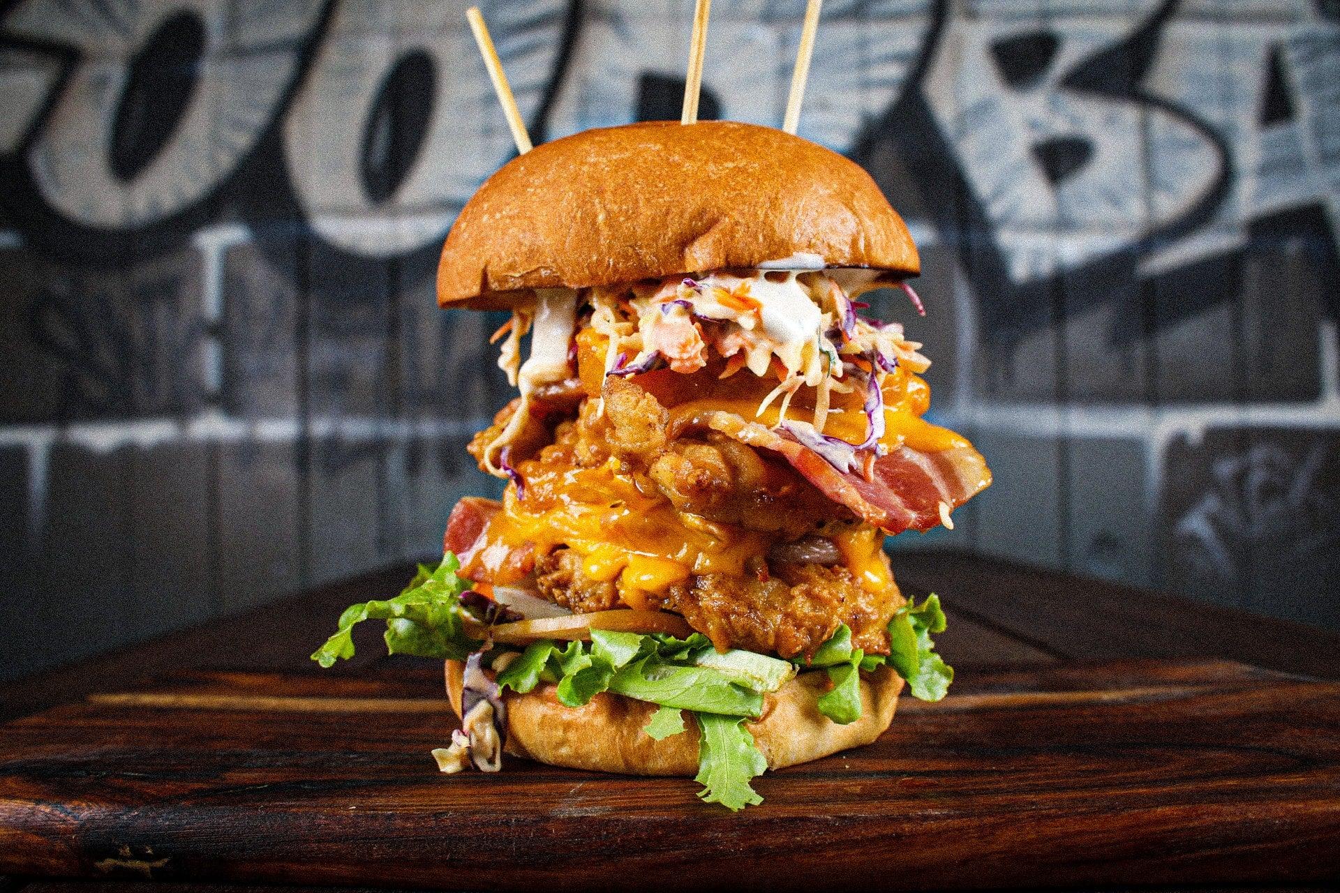 Massive Burger Goodbar Mooloolaba