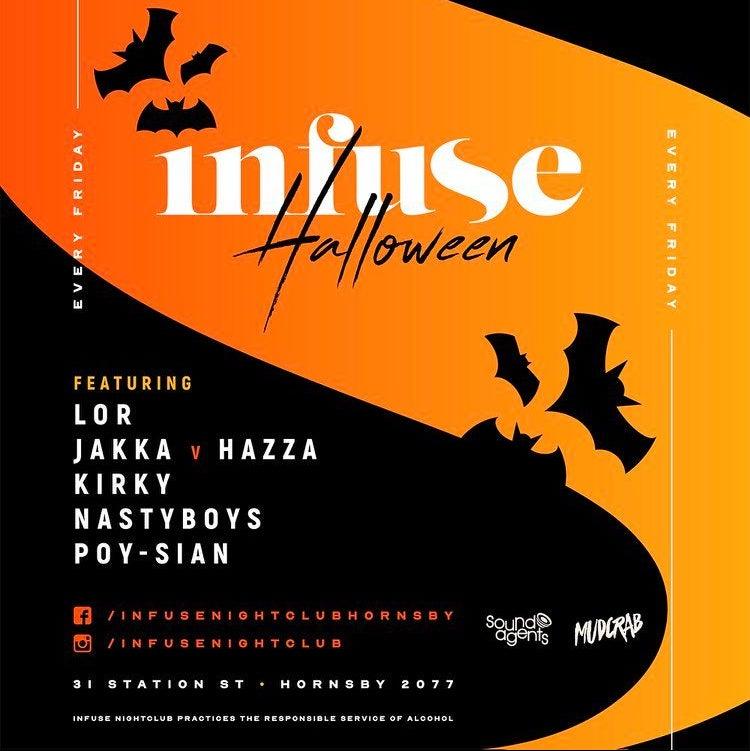 Infuse Fridays - Infuse Nightclub.