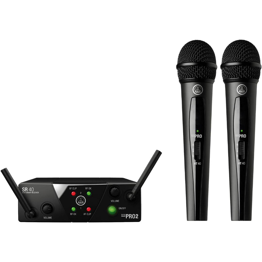 AKG Wireless Microphone - Dual