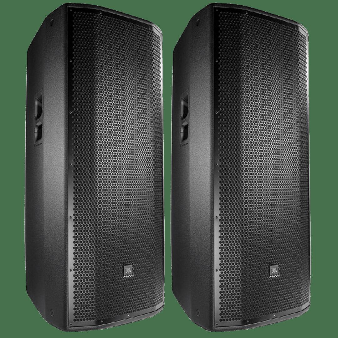 Dual 15 Inch JBL Speaker (Pair)