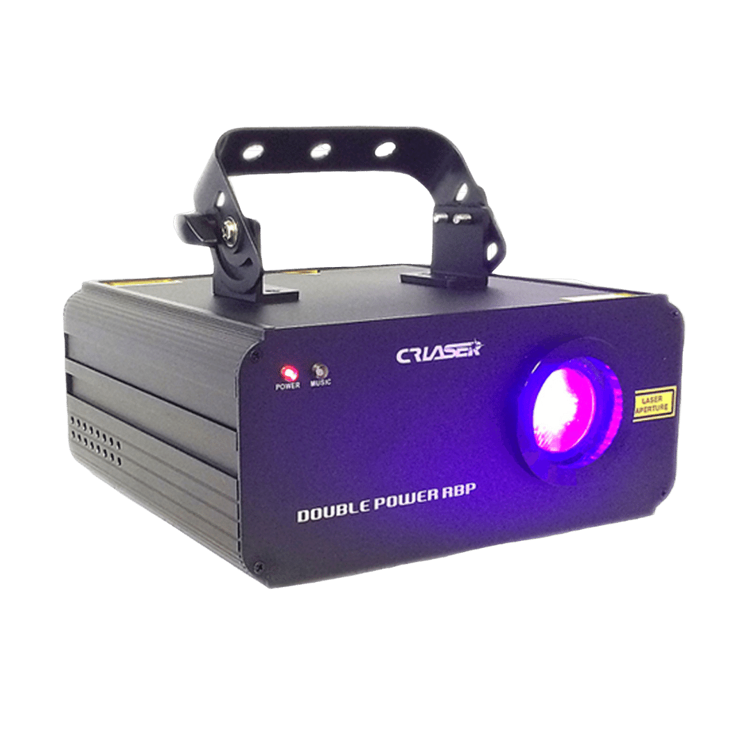 Red Blue Purple Laser