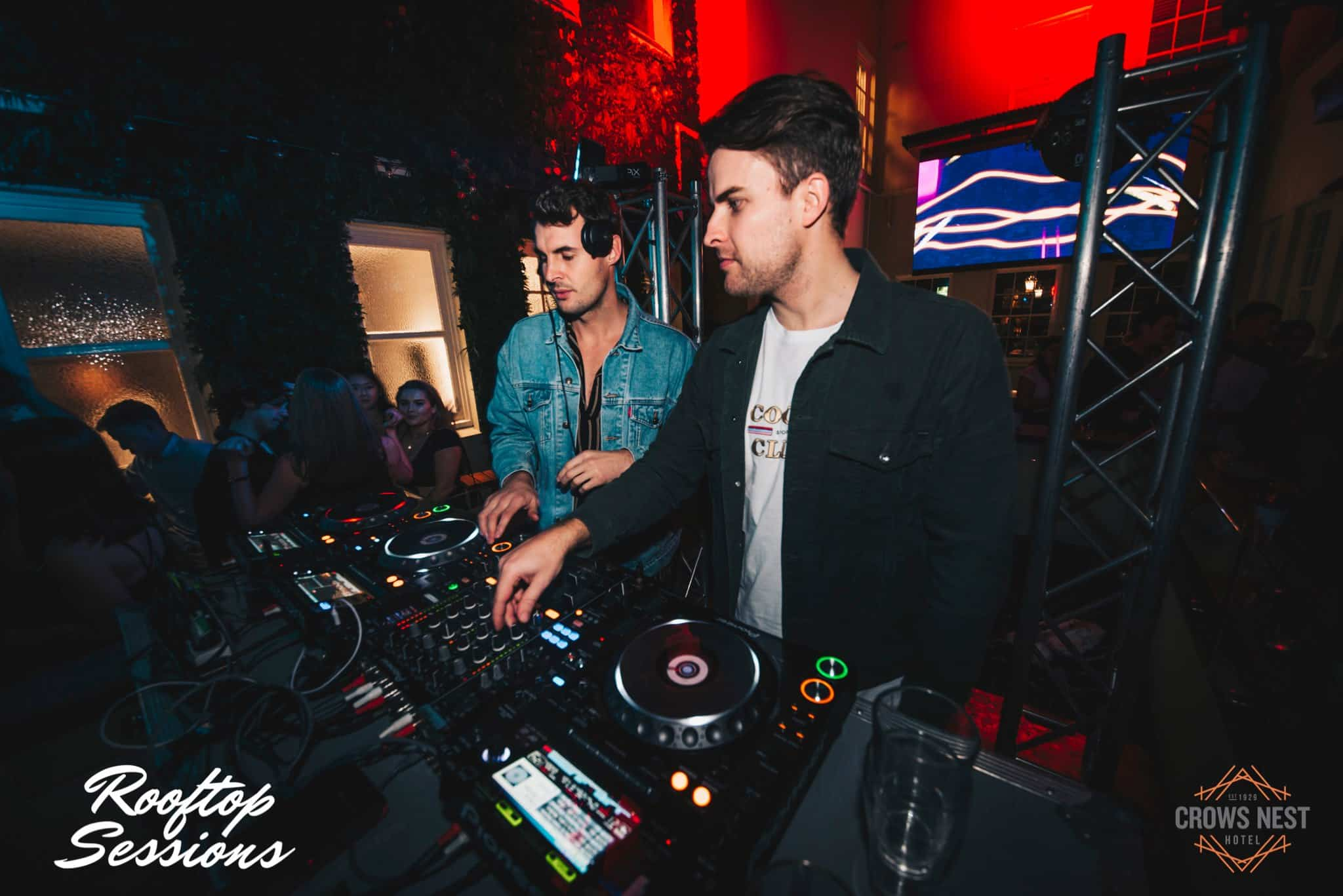 Go Freek DJ Set at the Crow's Nest Hotel Rooftop for Rooftop Sessions in Sydney.