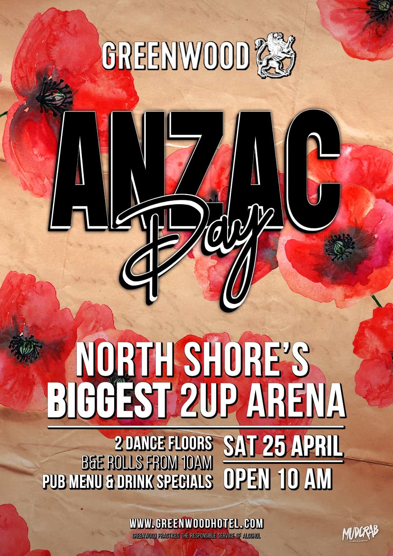 Greenwood Hotel Anzac Day 2020