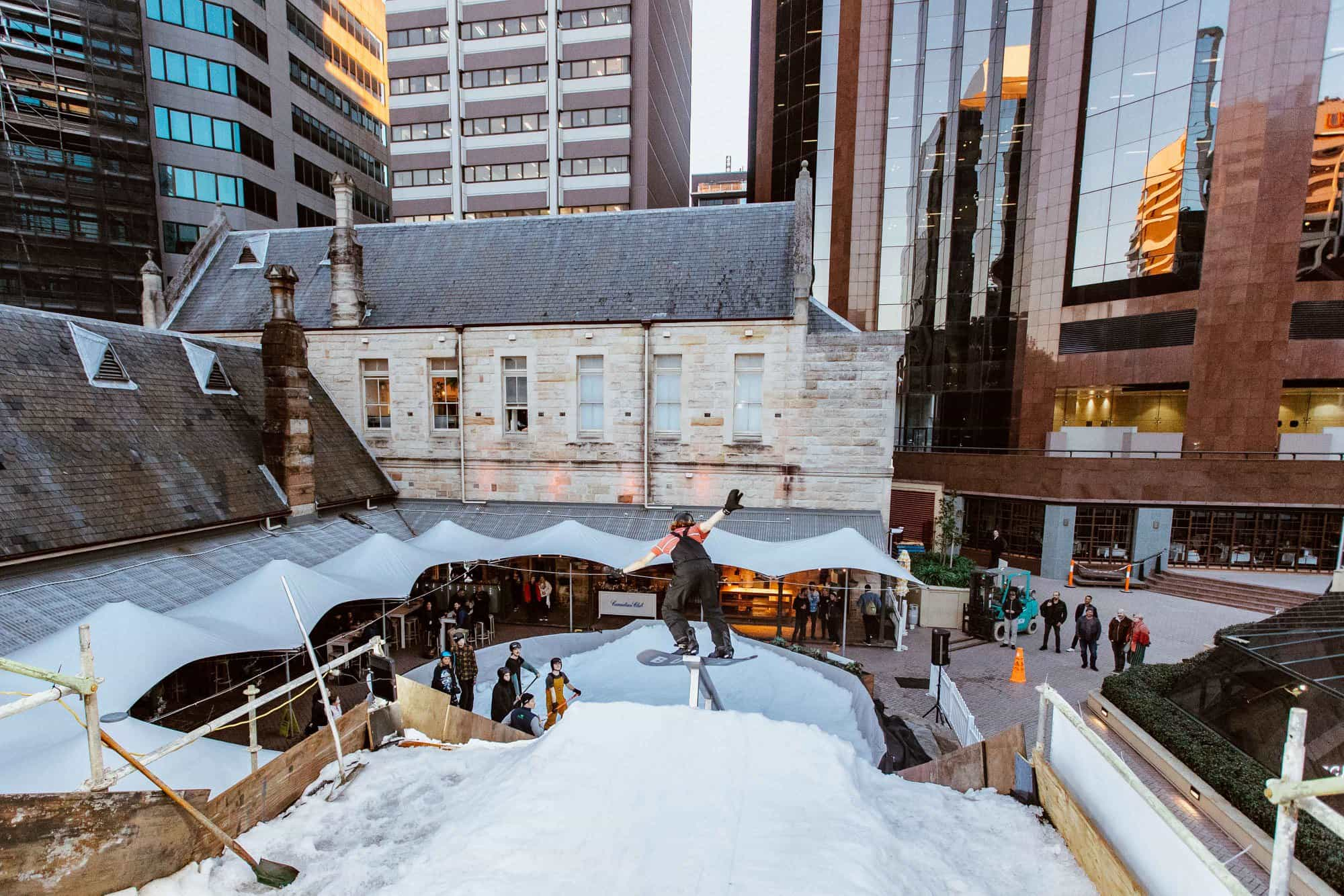 North Shore Snow Festival Greenwood Hotel