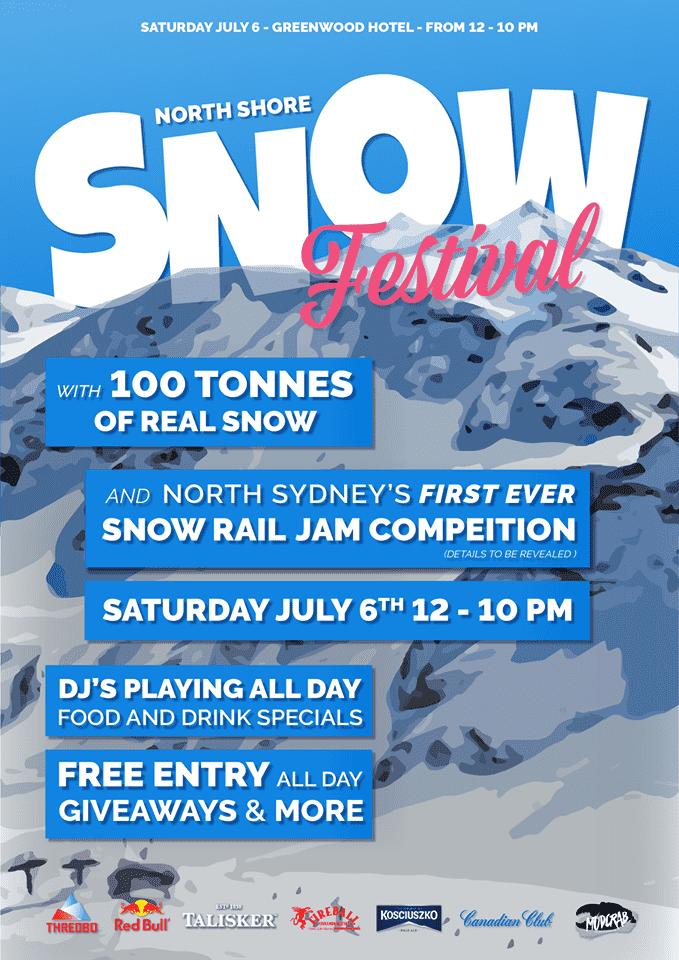 North Shore Snow Festival - Greenwood Hotel North Sydney