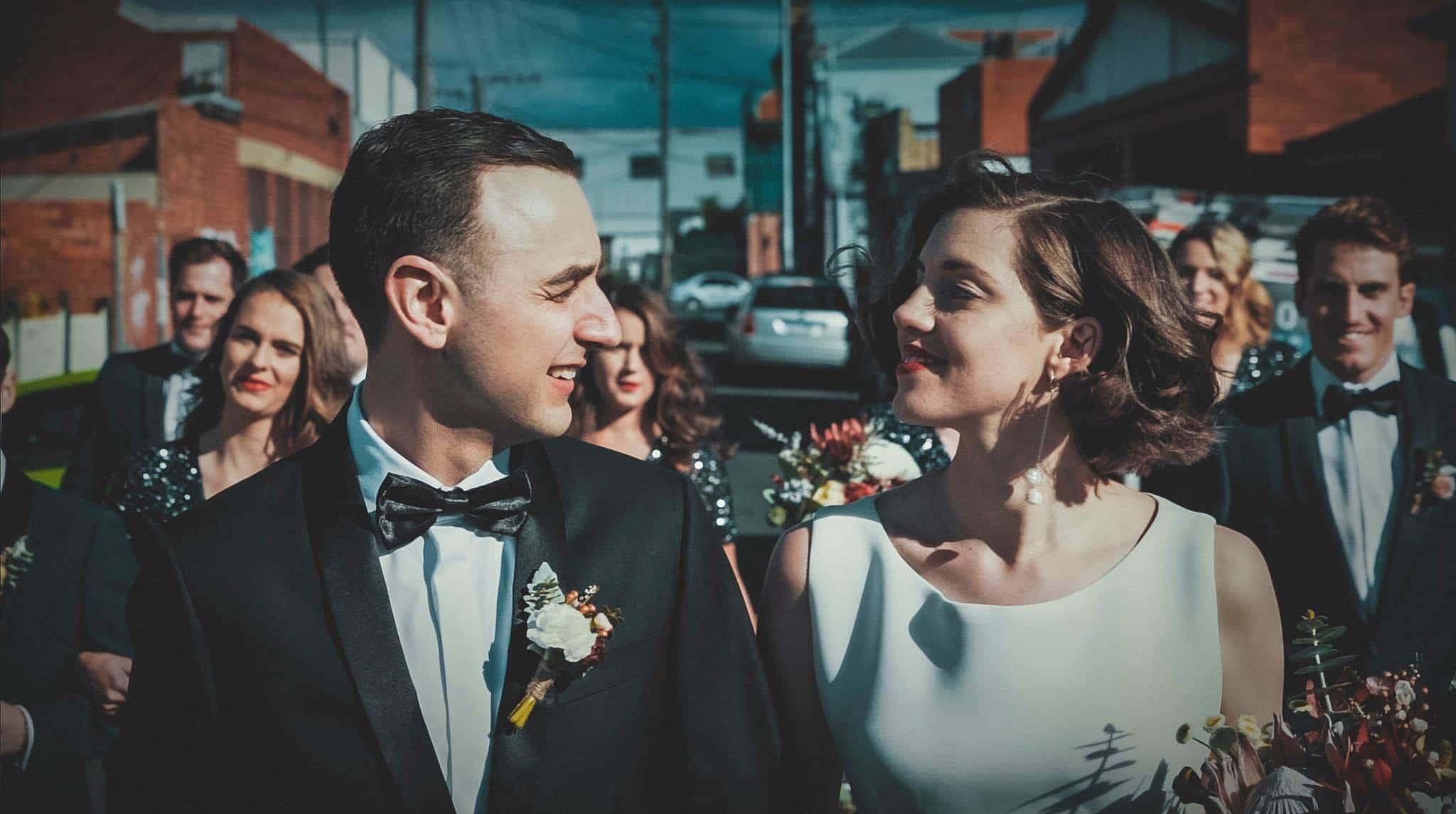 Moonset Media Couple Wedding