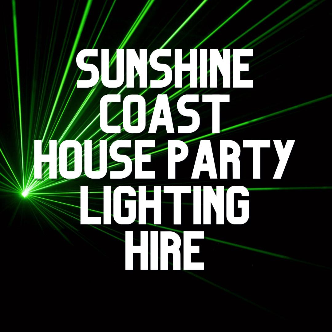 Sunshine Coast Party Lighting Hire