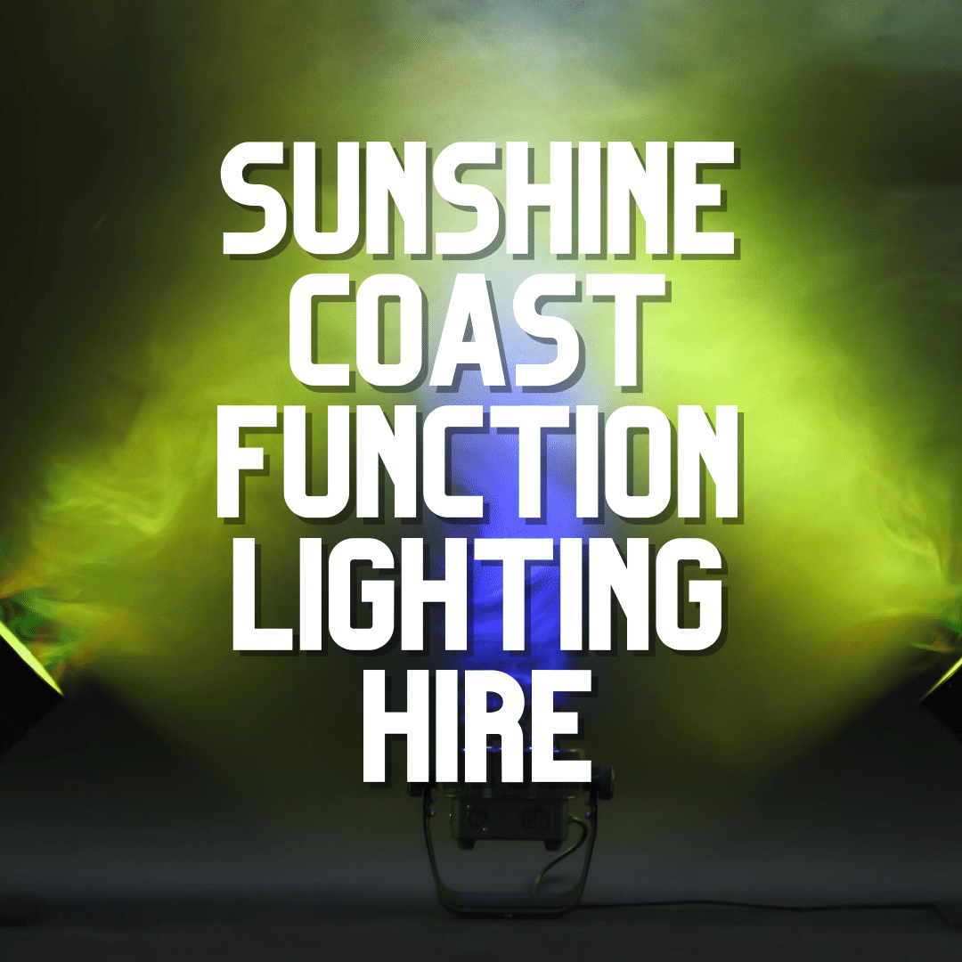 Sunshine Coast Function Lighting Hire