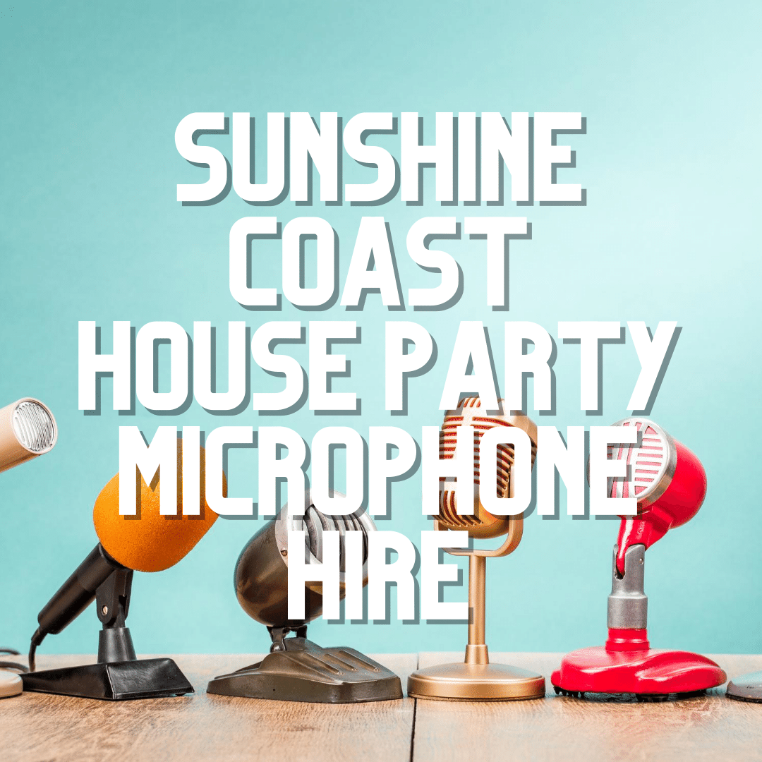 Sunshine Coast Party Microphone Hire