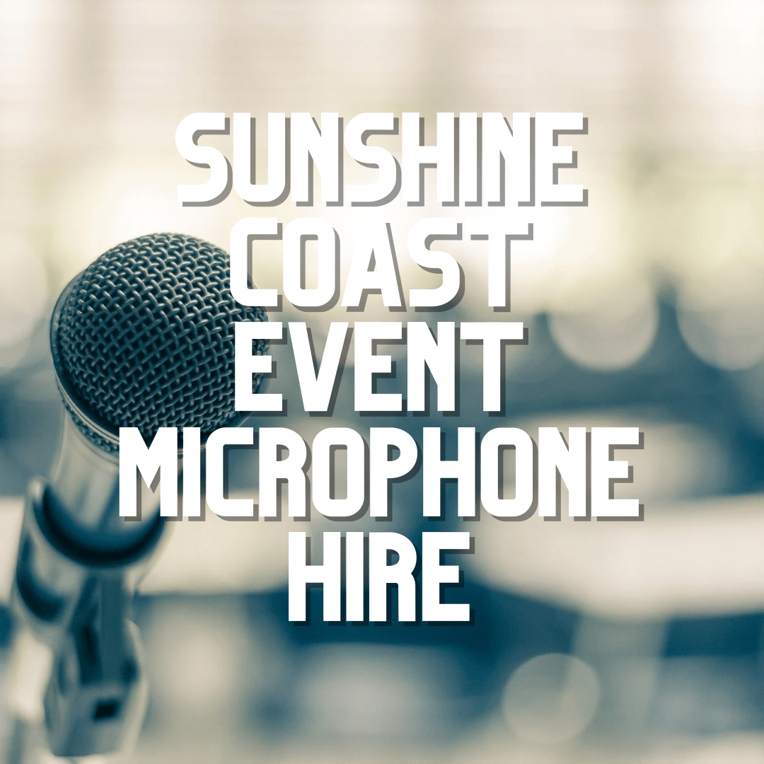 Sunshine Coast Event Microphone Hire