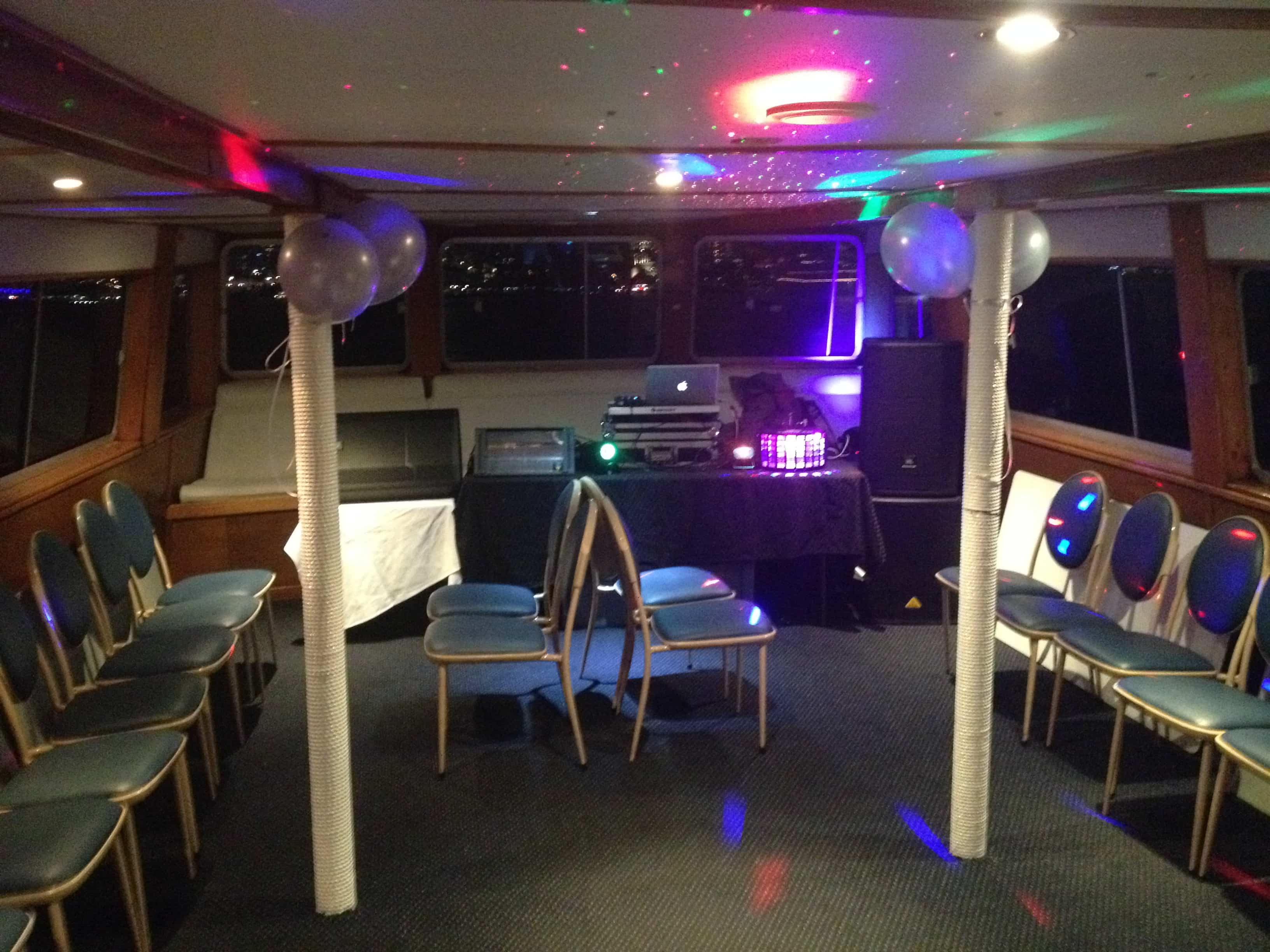 Boat Party School Formal | AV Hire