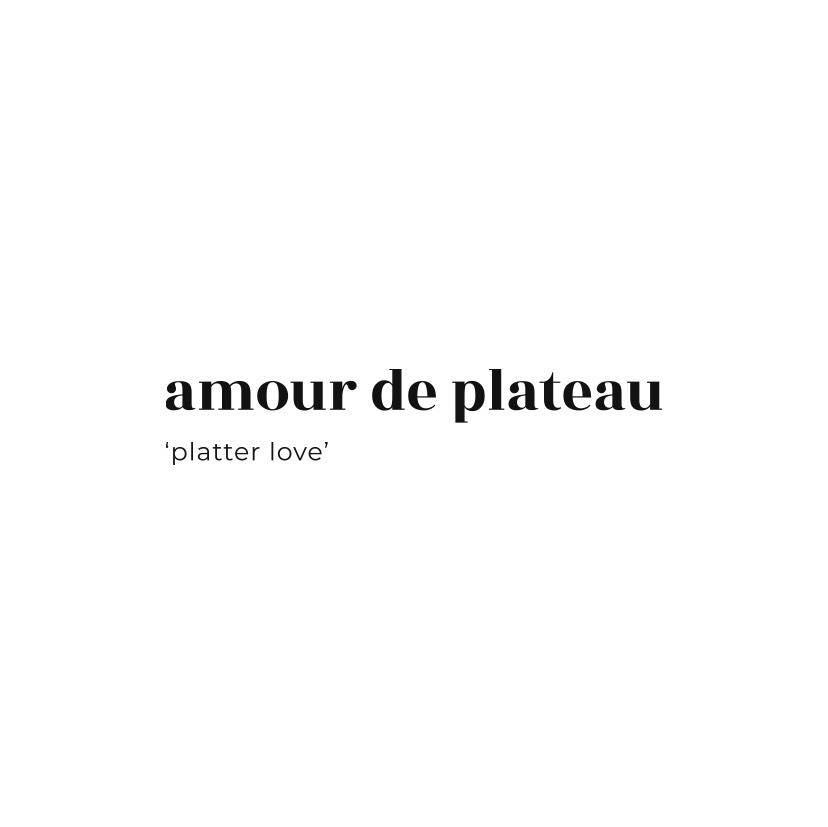 Amour De Plateau