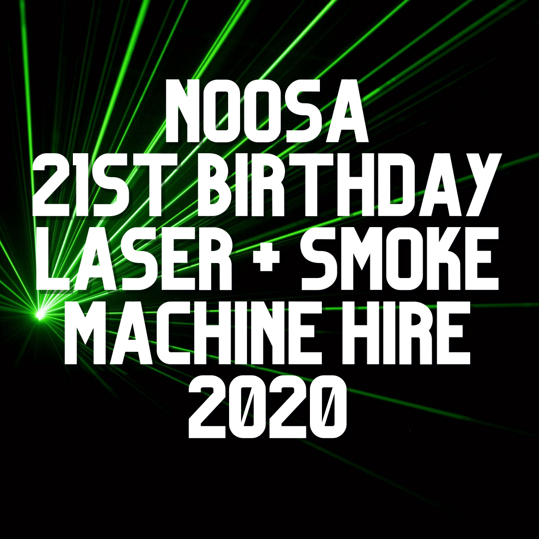 Noosa 21st Birthday Party | AV Hire