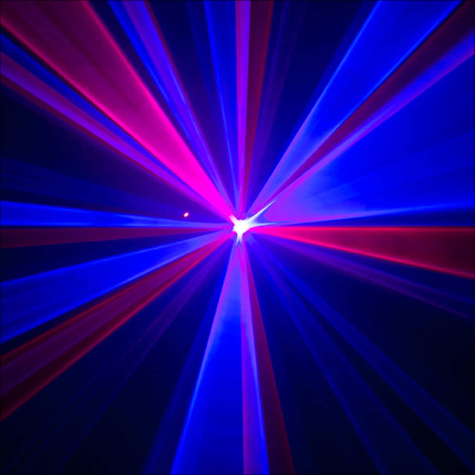 Red Blue Purple Laser