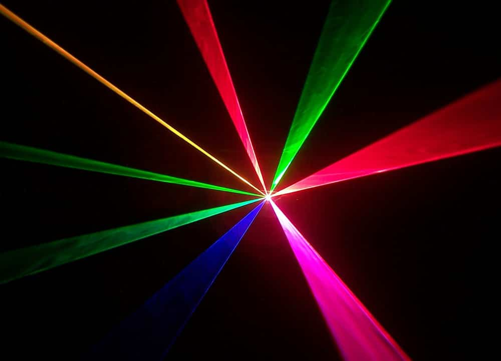 1 Watt Full Colour Club Laser