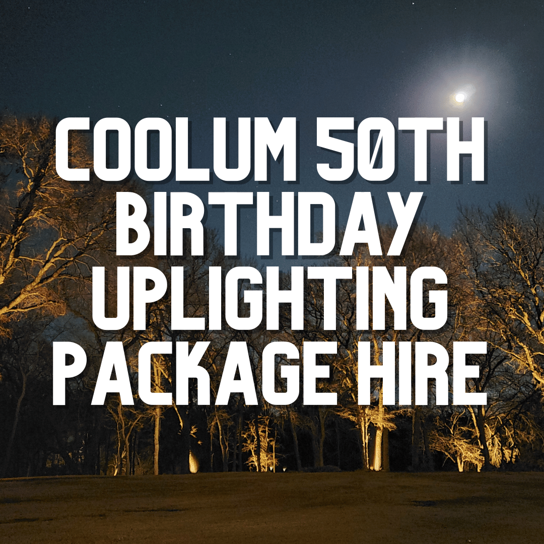 Coolum 50th Uplighting Package | AV Hire