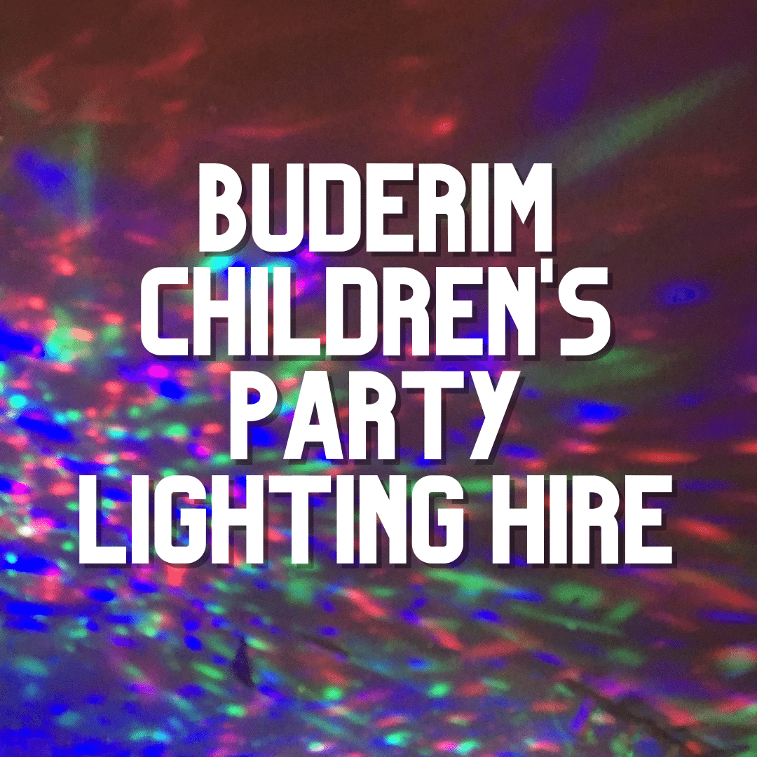 Buderim Kids Party Lighting | AV Hire